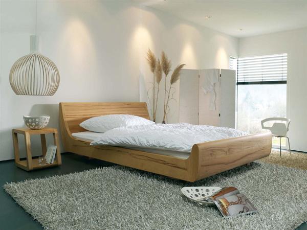 dormiente massivholzbett mola. Black Bedroom Furniture Sets. Home Design Ideas