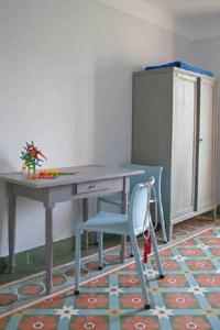 via zementfliesen historische zementmosaikplatten. Black Bedroom Furniture Sets. Home Design Ideas