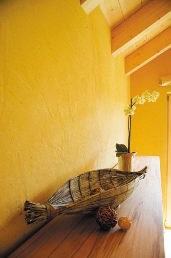 der lehmputz lesando capriccio lehmdekorputz in vielen farben. Black Bedroom Furniture Sets. Home Design Ideas